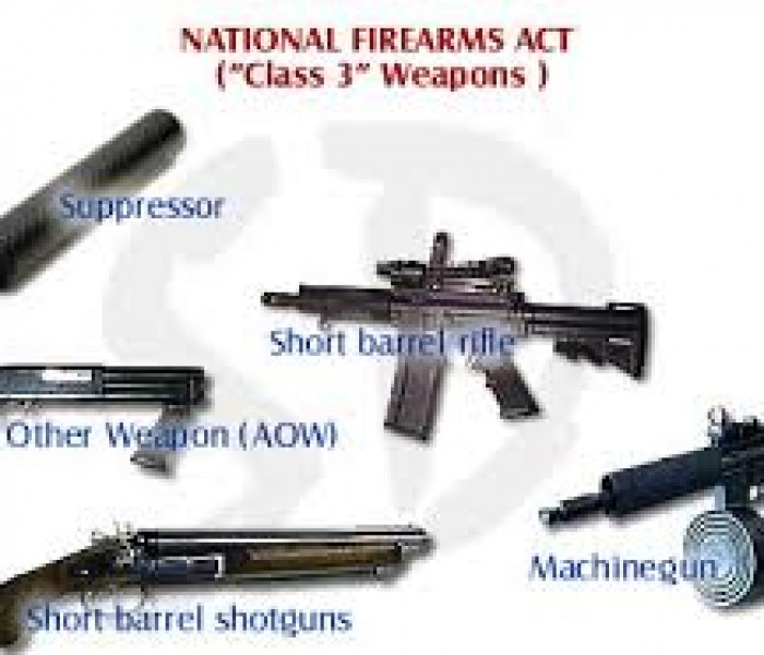 National Firearms Act Weapons Factsheet