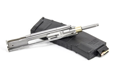 Simply pop in this bolt and use this magazine to start shooting .22LR out of any AR15!