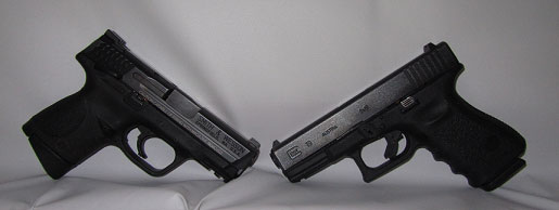 Smith & Wesson M&P vs. Glock 19